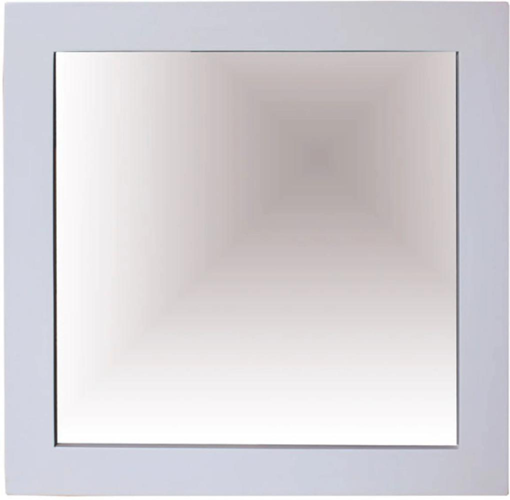 Mirror 70x70 cm wit