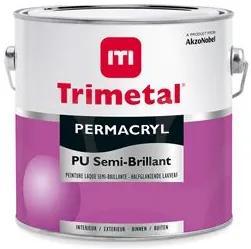 Trimetal Permacryl PU Semi Brillant - Wit - 2,5 l