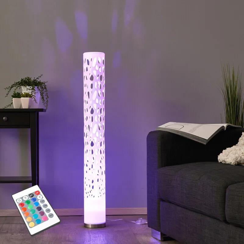 Decoratieve RGB-LED-vloerlamp Alisea - lampen-24