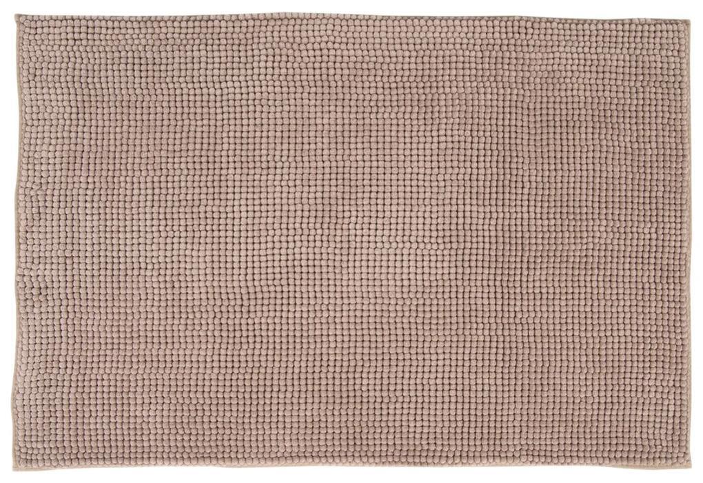 Badmat Differnz Candore Antislip 60x90 cm Microfiber Taupe