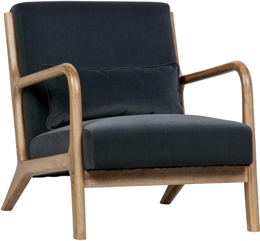 WOOOD WOOOD Mark Fauteuil Antraciet