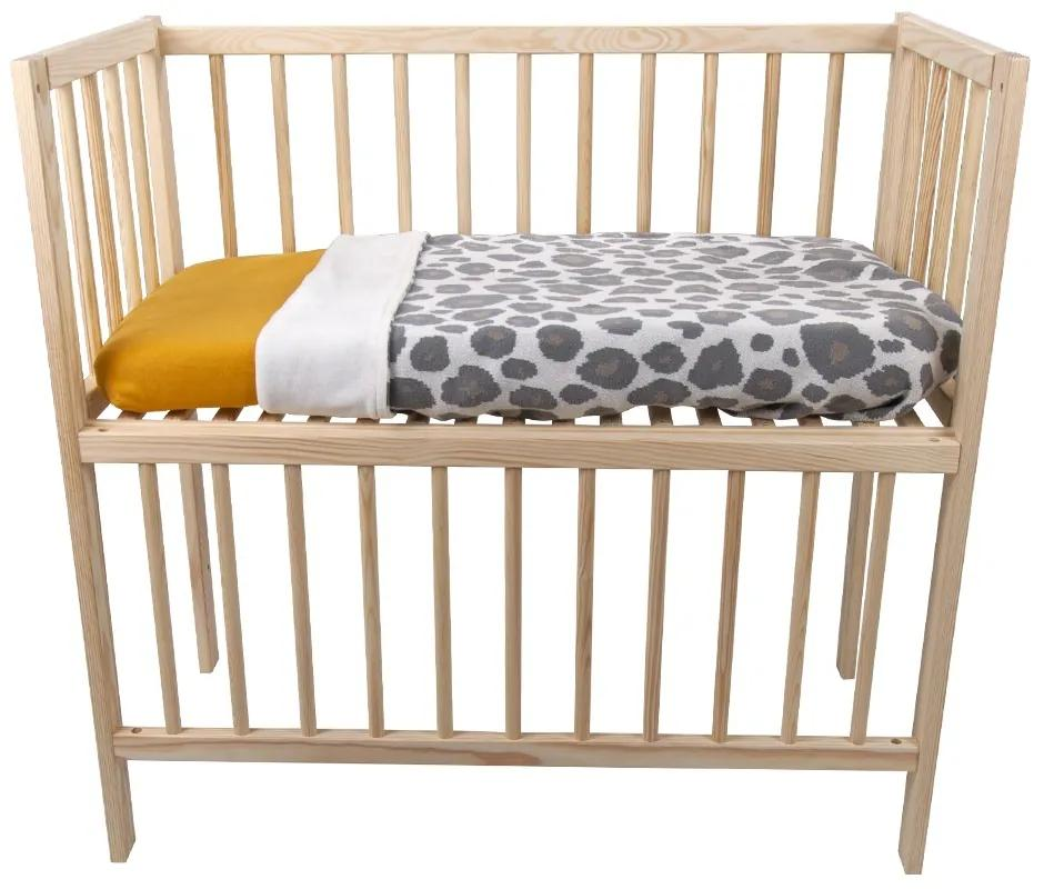 Wieg / Co-sleeper Bedside Open 40x80 Naturel
