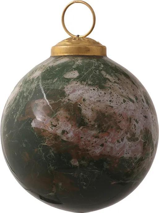 Christmas Zoey Kerstbal Zoey - Groen - Marble S