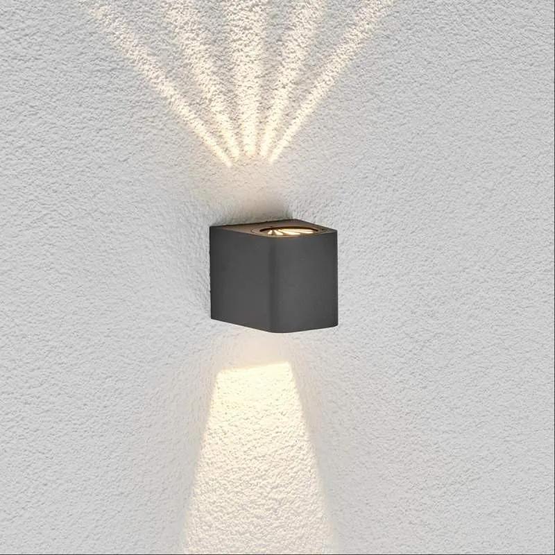 LED-buitenwandlamp Karsten