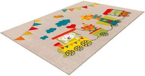 Vloerkleed voor de kinderkamer, »Move 4481«, aRTE ESPINA, rechthoekig, 13 mm, machinaal geweven