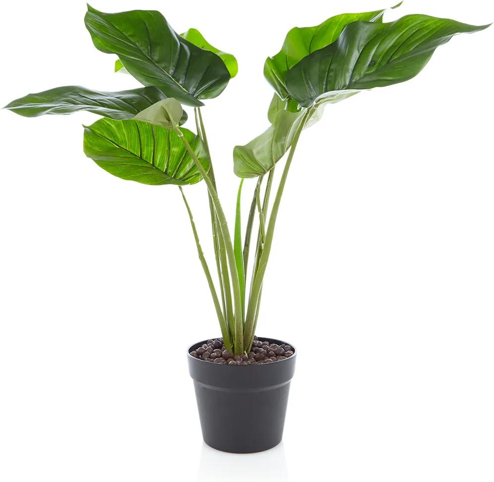 &Klevering Pothos kunstplant 60 cm
