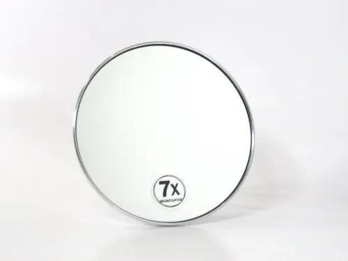 Cosmeticaspiegel Rond Woodynox 7x Vergrotend met Zuignap 15.5cm