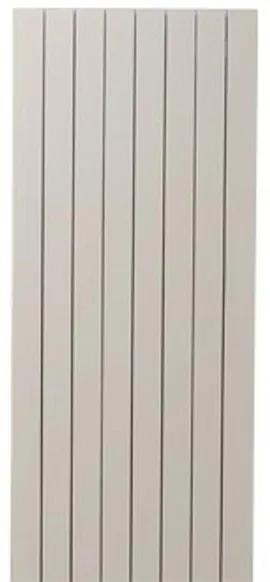 Vasco Zaros V75 designradiator aluminium verticaal 2200x525mm 2027W aansluiting 0066 wit structuur 112470525220000660600-0000