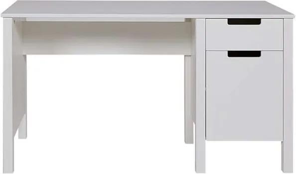 Woood bureau Jade - wit - 140x60x75 cm - Leen Bakker