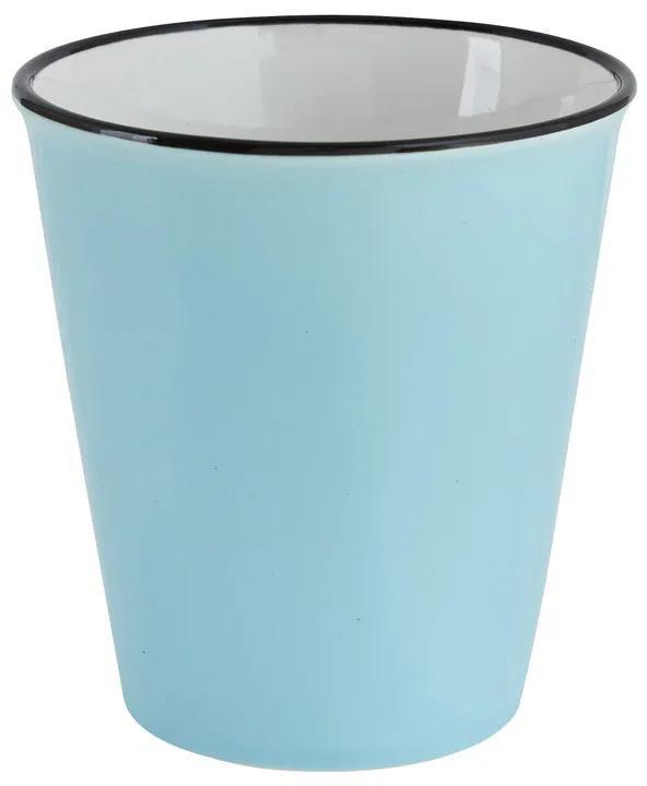 Melkbeker - blauw - 34 cl
