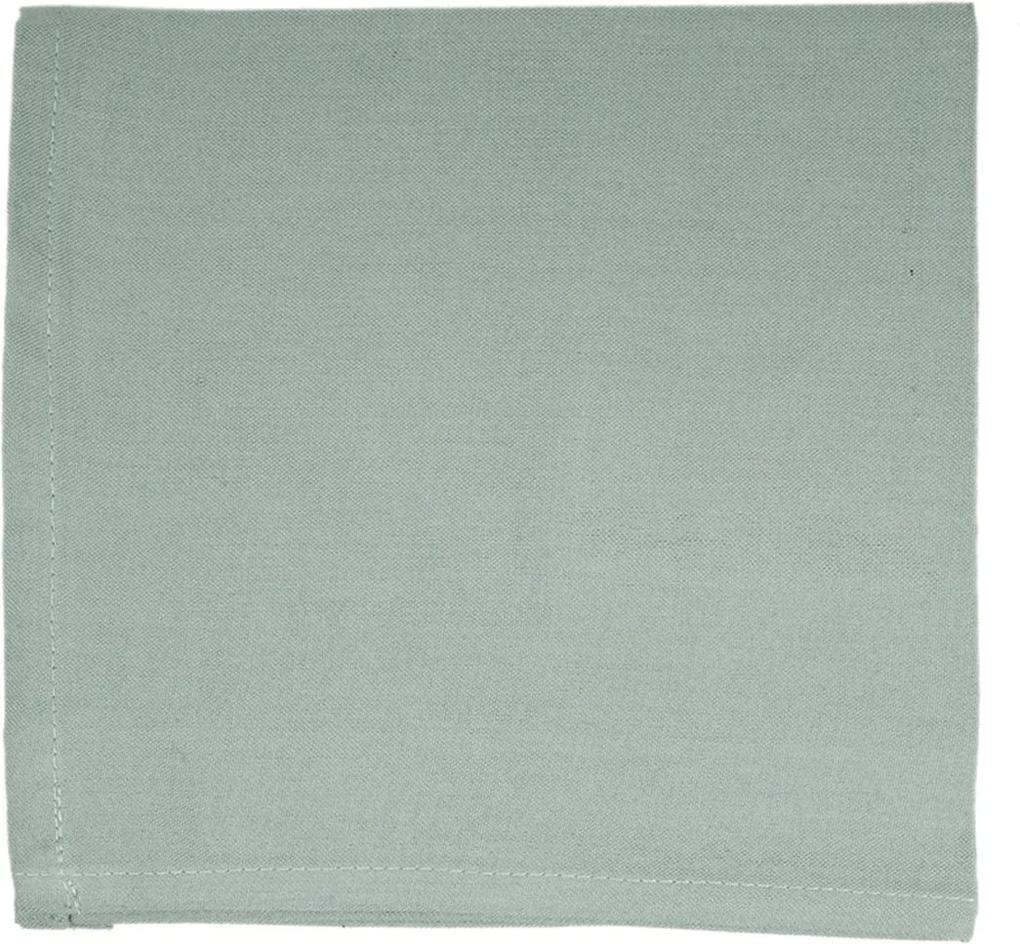 Tafelloper, katoen, groengrijs, 50 x 150 cm
