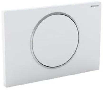 Geberit Sigma 10 WC stuursysteem electronisch touchfree netvoeding 24.6x16.4cm met infrarood voor UP300/320 inbouwreservoir wit/mat/ mat verchroomd 115907kl1