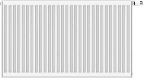 Stelrad Novello paneelradiator 70x160cm type 33 4339watt 6 aansluitingen Staal Wit glans 0221073316