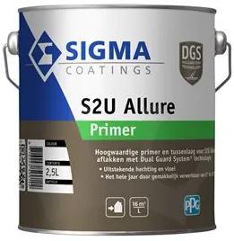Sigma S2U Allure Primer - Wit - 2,5 l