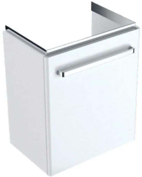 Geberit Renova Compact wastafelonderbouwkast compact 1 deur 50x60.4x36.7cm links/rechts wit 862055000
