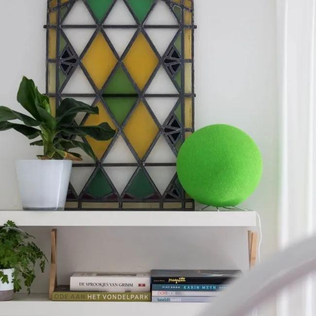 Staande Cottonball - Light Green - dia 36cm