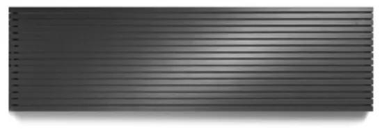 Vasco Carre CPHN1 designradiator enkel 2400x355mm 1037W antraciet 111332400035500180301-0000