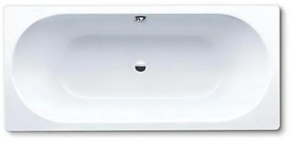 Kaldewei Classic Duo plaatstaal bad dikwandig rechthoekig 170x75x43cm wit 290700010001