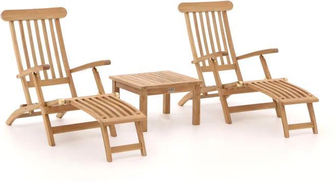 Sunyard Country/Wales 60cm deckchair set 3-delig - Laagste prijsgarantie!