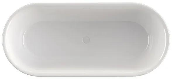 Xenz Friso vrijstaand bad 155x80 mat wit