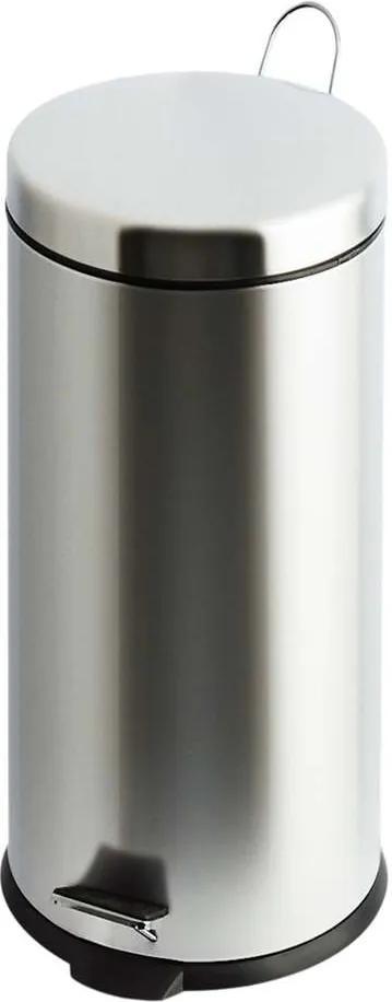 V-part pedaalemmer Classic - zilverkleurig - 30l - Leen Bakker