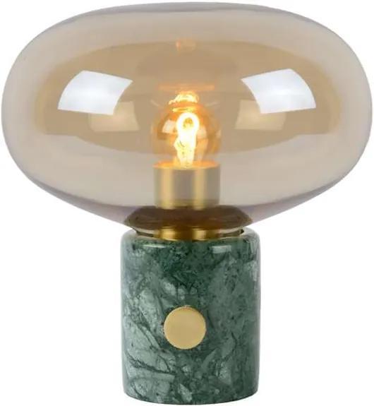 Lucide tafellamp Charlize - amber - Ø23x24 cm - Leen Bakker