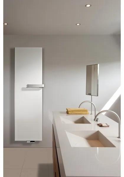 Vasco Niva S NS1L1 designradiator enkel 640x1220mm 727 watt wit structuur 11197064012201188060