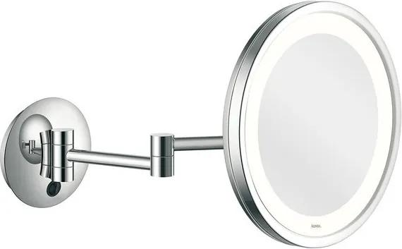 Aliseo LED City Light make-up spiegel 25cm messing/staal chroom 020657