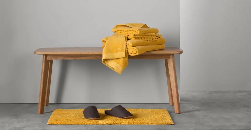 Alto 4 x handdoeken, mosterdgeel