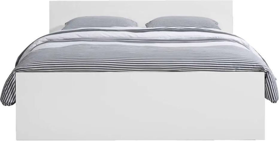 Bed Naia - hoogglans wit - 160x200 cm - Leen Bakker