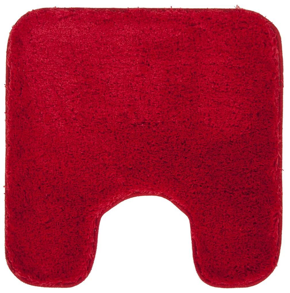 Toiletmat Differnz Altera Antislip 60x60 cm Microfiber Rood