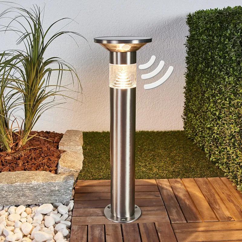 LED sokkellamp Jalisa, zonnetechnologie en sensor - lampen-24