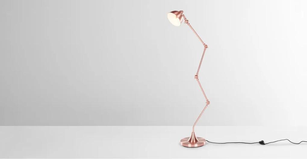 Hartwell staande lamp, koper