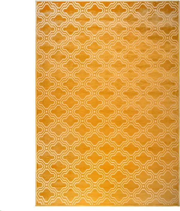 Vloerkleed Feike 160 x 230 - geel