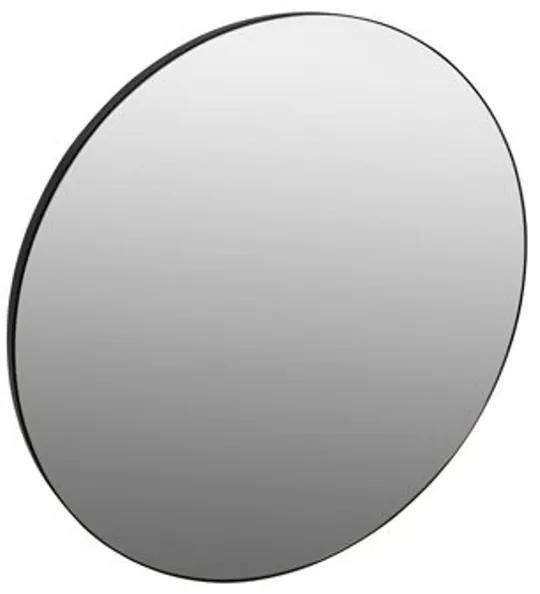 Plieger Nero Round spiegel rond 80cm met zwarte lijst 0800304