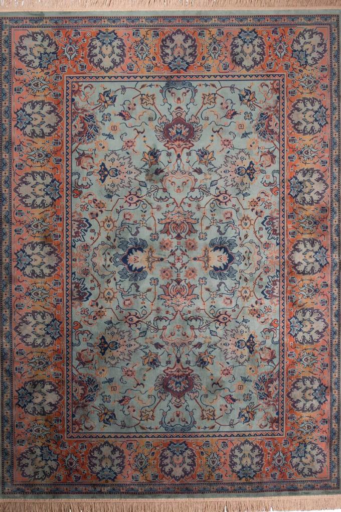 Dutchbone - Carpet Bid Old Green - 170 x 240 - Vloerkleed