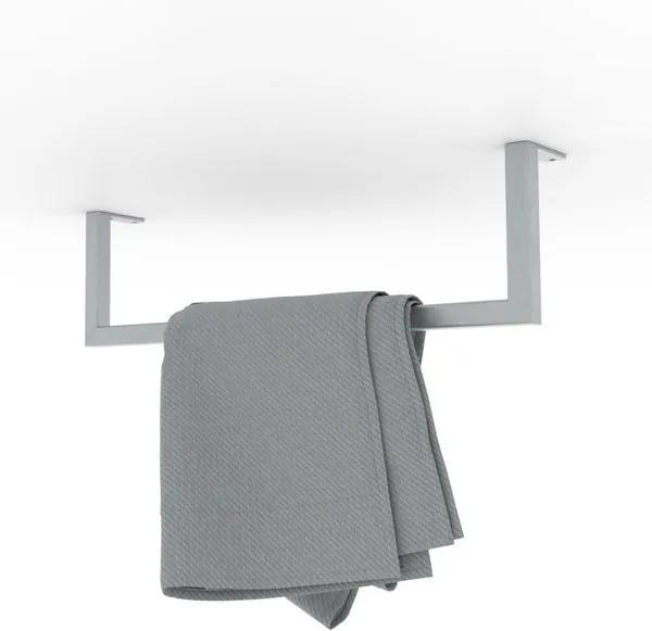 LoooX Wood handdoekhouder 50cm RVS geborsteld WHH50RVS