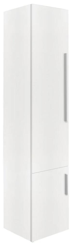 Badkamerkast Differnz Style 33x35x165 cm MDF Mat Wit (Links)