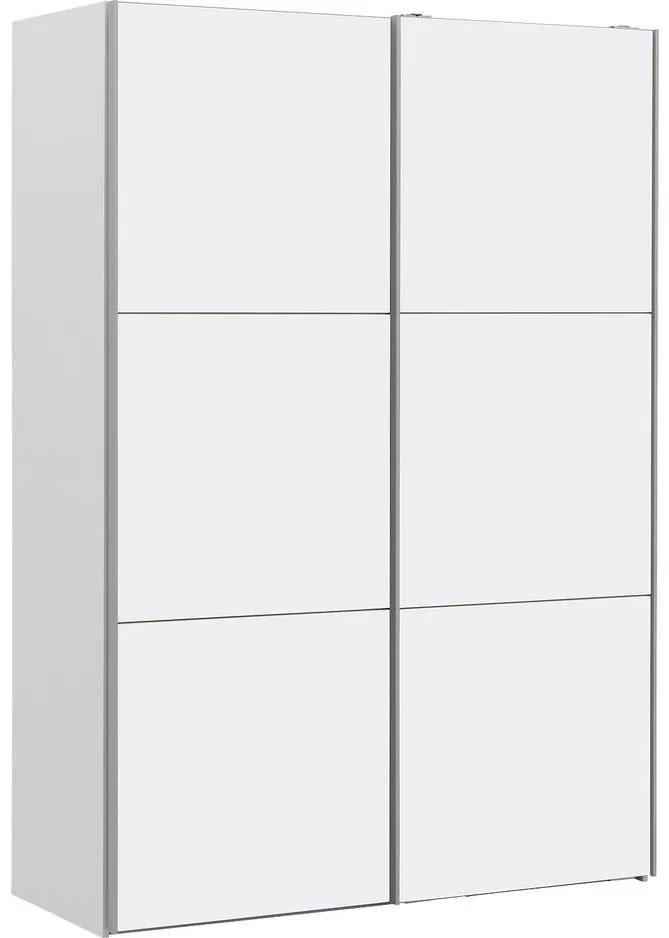 Goossens Kledingkast Easy Storage Sdk, 150 cm breed, 220 cm hoog, 2x 3 paneel schuifdeuren