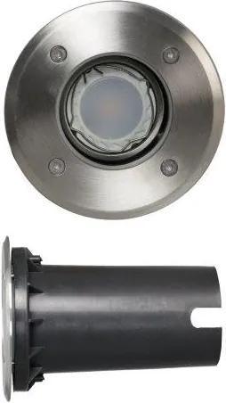 Luxform 12v uplight York 5w led spotlight - zilver