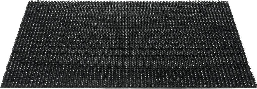 deurmat queens grasmat zwart 40x60cm
