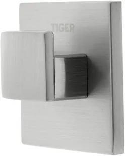 Tiger Items Haak klein RVS geborsteld 4x4x2cm CO284520946