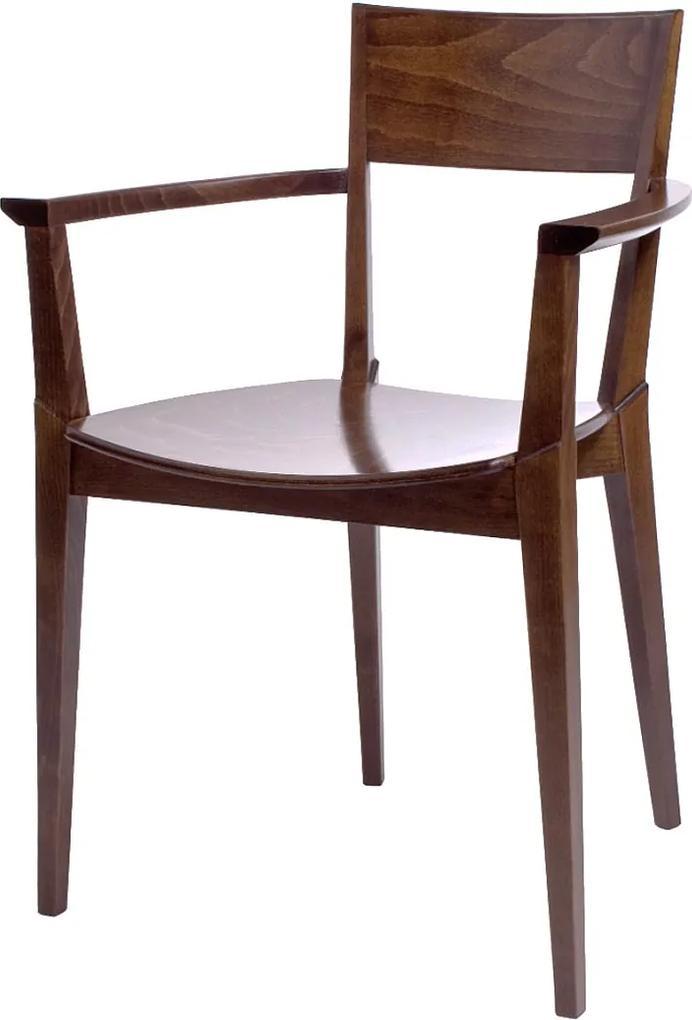 Fameg Felda - Houten armstoel- Stoel - Met armleuning - Design - Retro