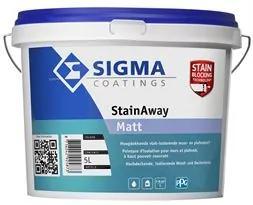 Sigma StainAway Matt - Mengkleur - 5 l