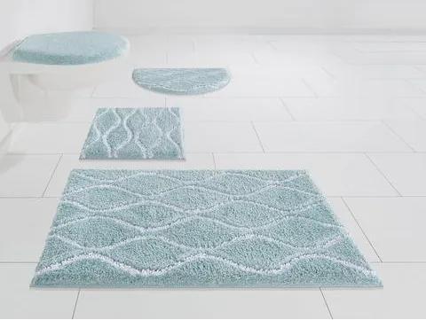 Badmat »Hila«, Home affaire, hoogte 18 mm, met antislip-coating, geschikt voor vloerverwarming