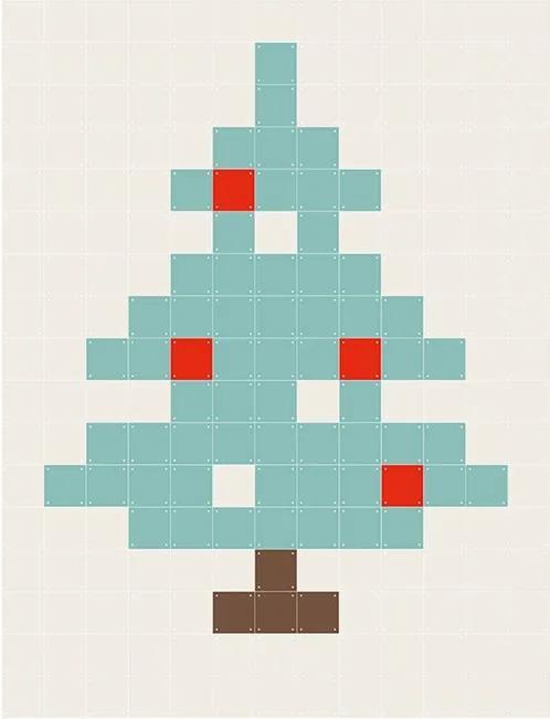 X-mas Pixel - 240 kaarten
