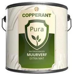 Copperant Pura Muurverf Extra Mat - Wit - 2,5 l