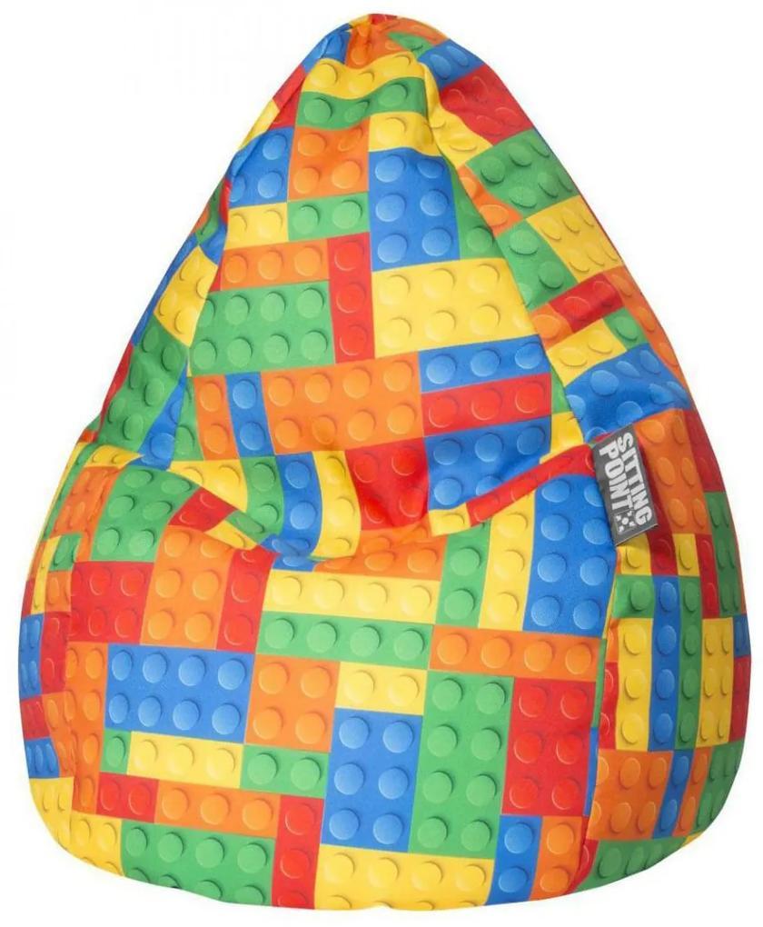 Sitting Point BeanBag Kinder Zitzak Bricks L