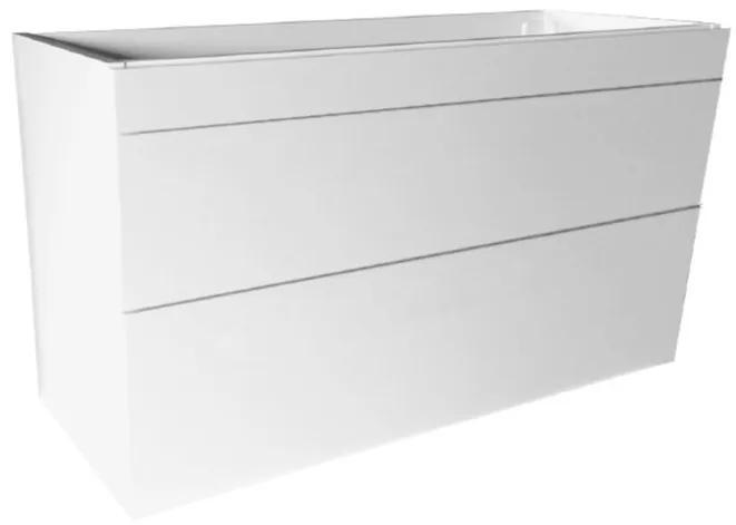 Best Design Beauty greeploze badkamermeubel 100 cm glanzend wit