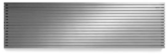 Vasco Carre Plan CPHN2 designradiator dubbel 2200x475mm 2264 watt alu grijs 111342200047500180302-0000
